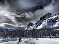 Snowshoeing|Yukon|Borealkennels