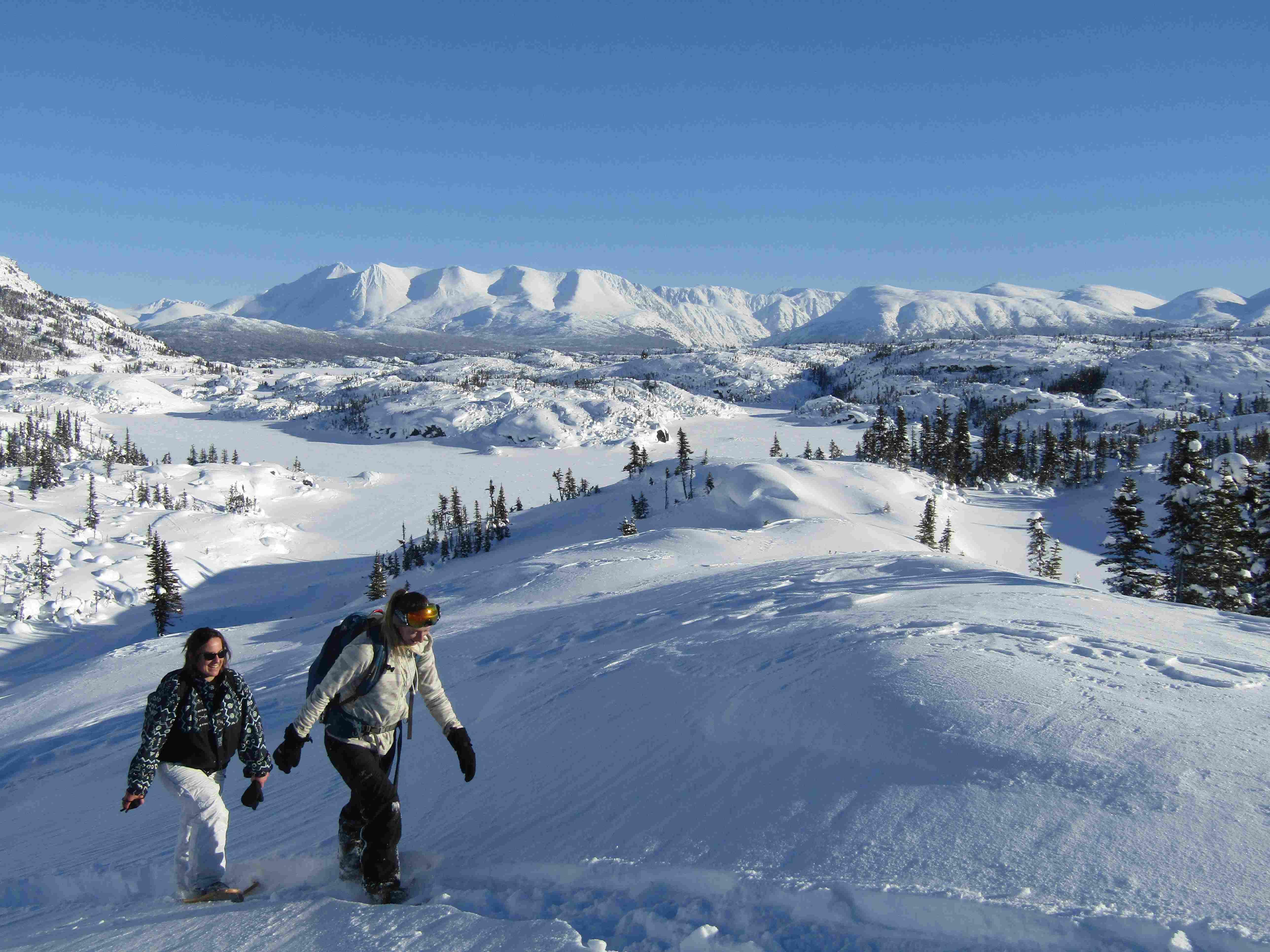 Snowshoeing|Yukon|Boreal Kennels
