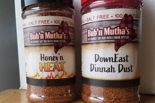 SALT-FREE BBQ Rubs, Bub 'n Mutha's Get Two Ship Free