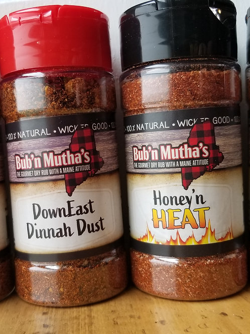 Chicken, Beef, Pork or Fish Seasoning, Bub 'n Mutha's Get Two and Save