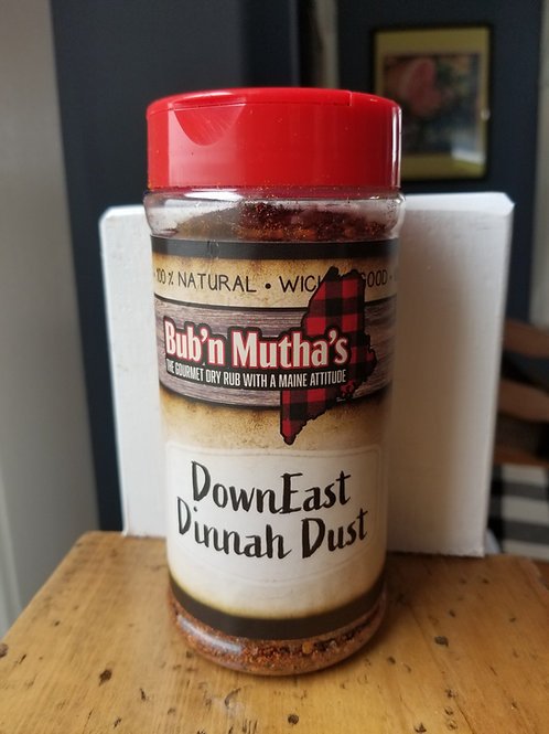 Competition Size (8oz.) Bub 'n Mutha's DownEast Dinnah Dust