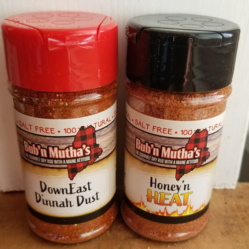 SALT FREE Chicken, Beef, Pork or Fish Seasoning, Bub 'n Mutha's Get Two and Save