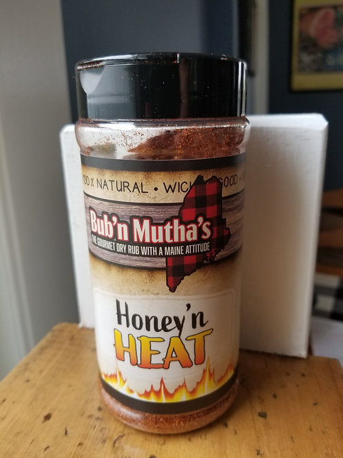 Competition Size Bub 'n Mutha's Honey 'n HEAT