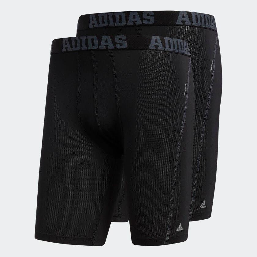 Adidas Climacool compression boxer briefs.