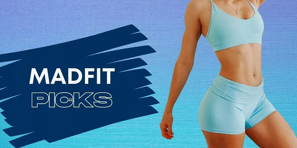 MadFit wearing an activewear outfit.
