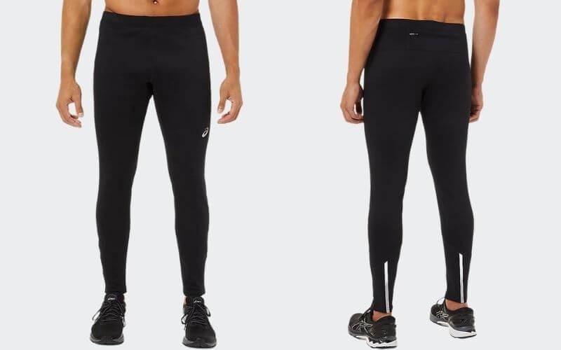 Athlete wearing Asics Thermopolis Winter Tights.