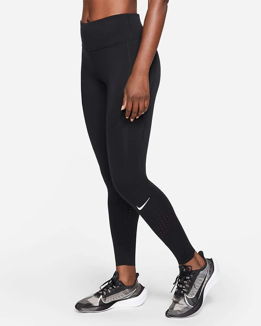 Athlete wearing Nike Epic Luxe Leggings.