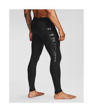 Athlete wearing Under Armour Qualifier Ignight ColdGear tights.