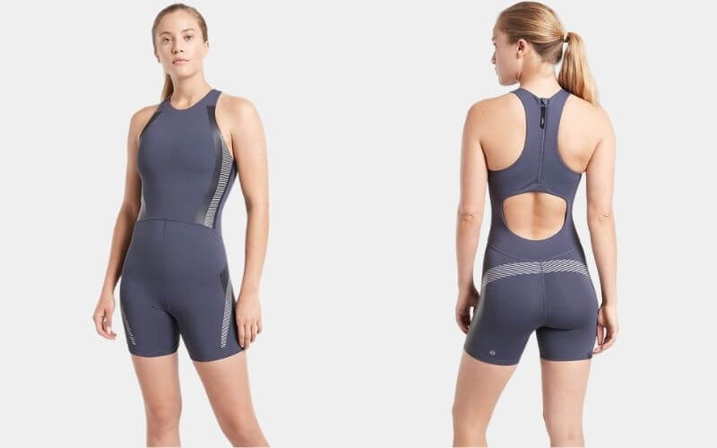 Athlete wearing Athleta Legend Bodysuit.