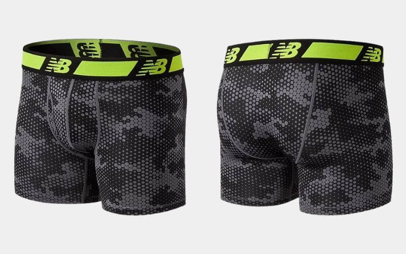 NB Dry Boxer Briefs in front and back views.