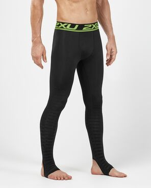 Athlete wearing 2XU Power Recovery Compression Tights