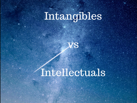 The Intangibles vs. The Intellectuals