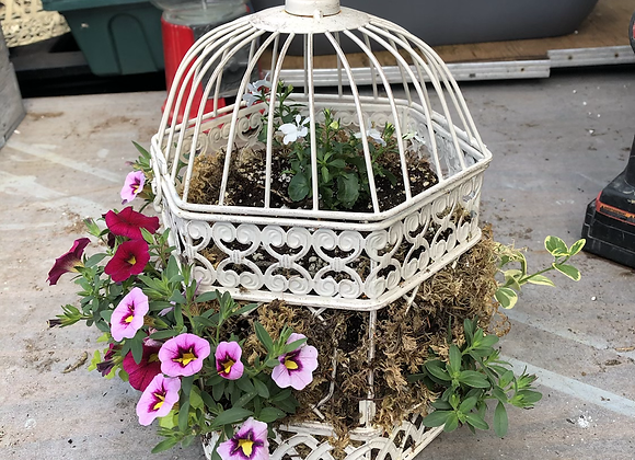 Small Octagon Birdcage Pl0029