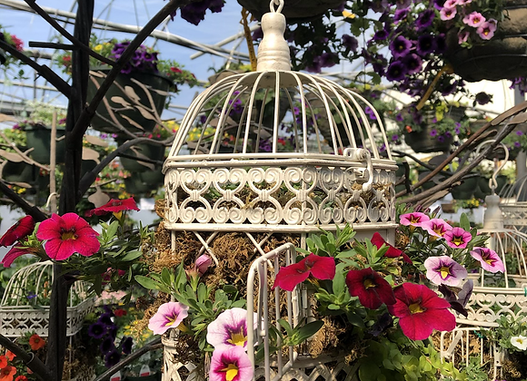 Small Octagon Birdcage Pl0027