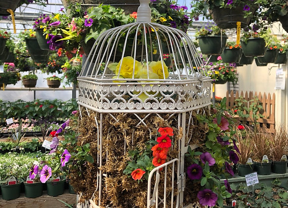 Large Octagon Birdcage Pl0022