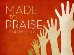 God's got to get His Praise!