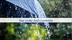 Staying Under God's Protection