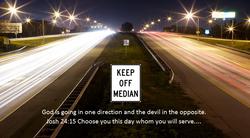 8/23/15 Keep Off Median