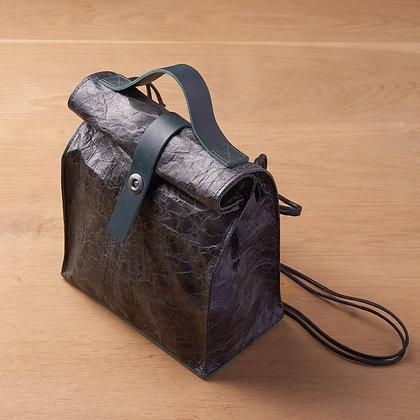 Parchment Leather Bag - Purple