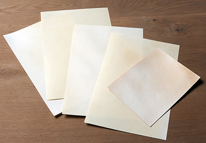 PARCHMENT CUT SHEETS