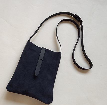 Suede Shoulder Bag / Crossbody Bag