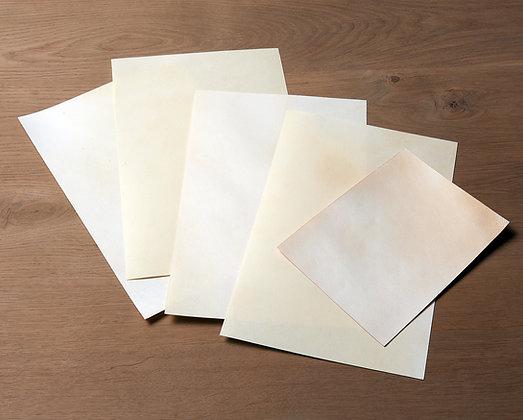 Natural goatskin parchment - Vellum - Parchment paper