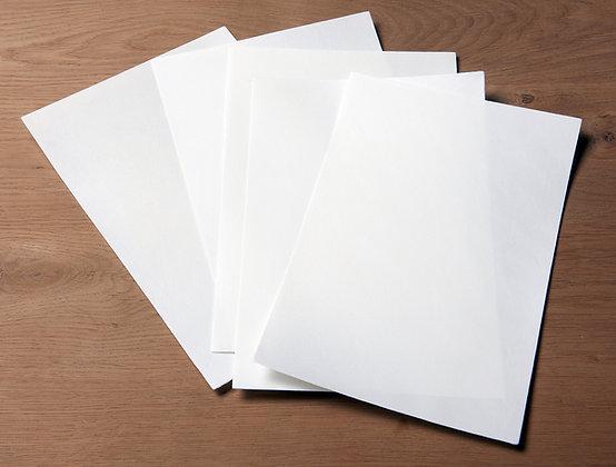White goatskin parchment - Vellum - Real parchment