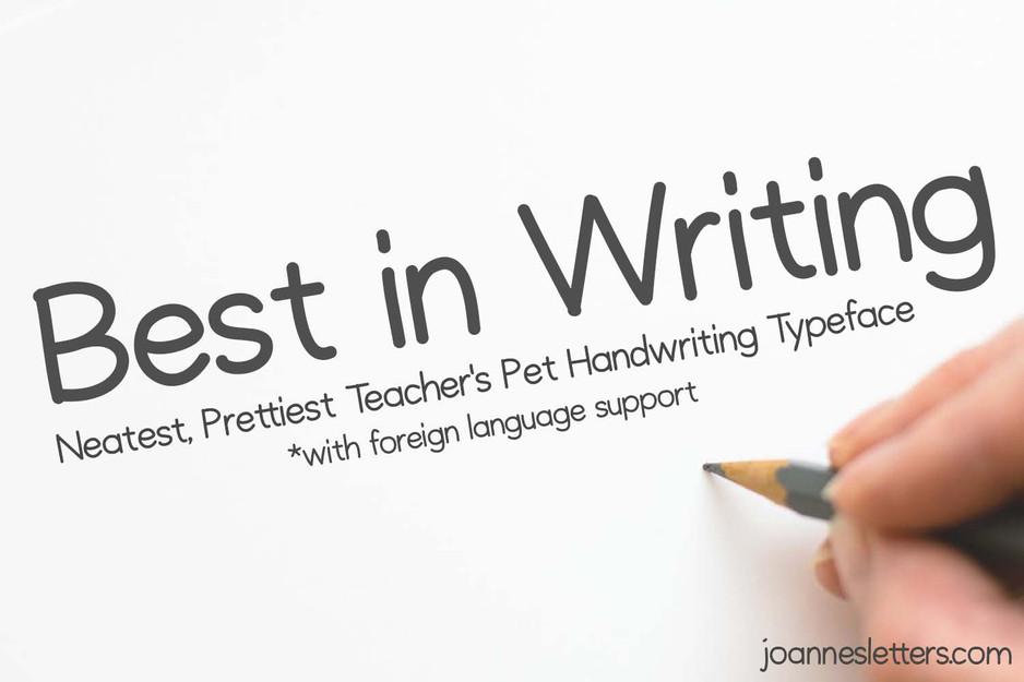 Best In Writing
