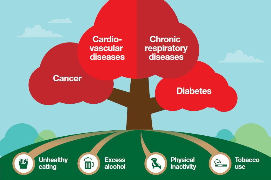 Non Communicable Diseases NCD and its prevention India
