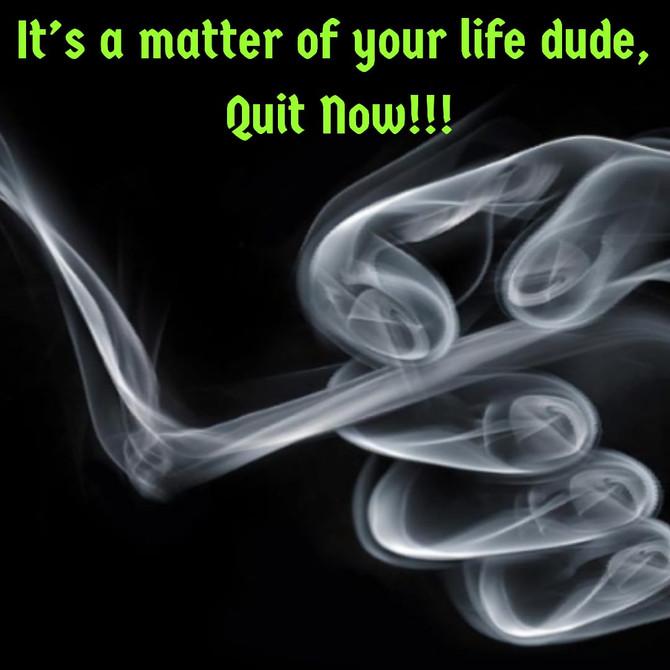 Quit Smoking, Save Your Life
