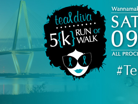 Teal Diva 5{k} is headed to Charleston