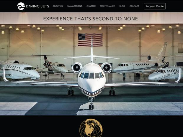 Davinci-Jets-Website-Designed-By-Hibiscu
