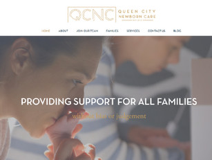 Queen-City-Newborn-Care-website-designed