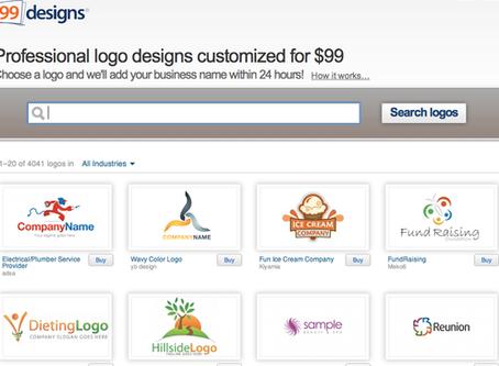 Clip Art? $99 logo? Hire a professional!
