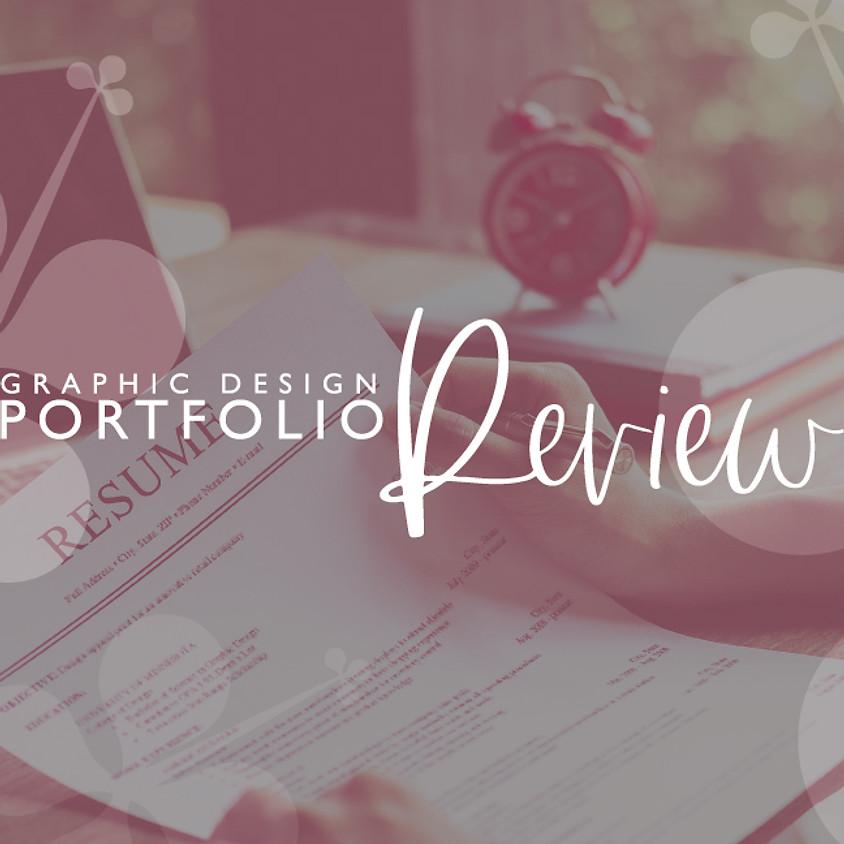 Graphic Design Portfolio Review
