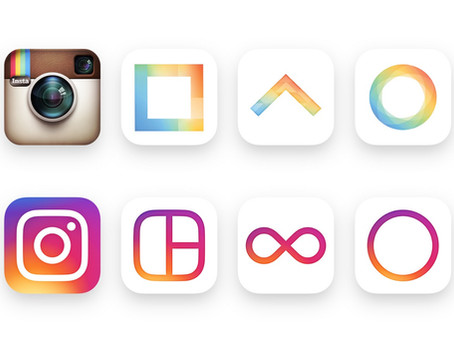 Instagram re-brands to simple camera icon.