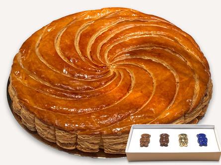 Cyril Lignac, la galette du Roi.