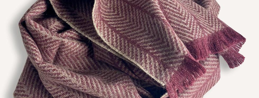 Écharpe traditionnelle Pur Baby Alpaga INCA