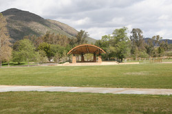 Large shelter at Lake Skinner
