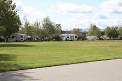 RV camping at Lake Skinner