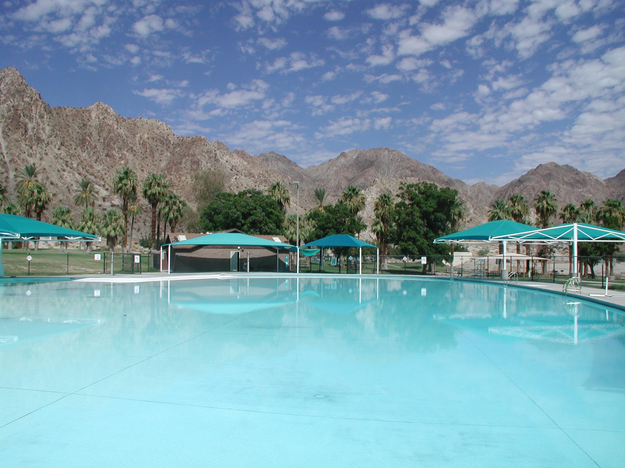 Swimming pool at Cahuilla