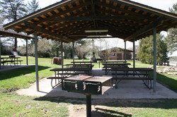 Picnic shelter at McCall