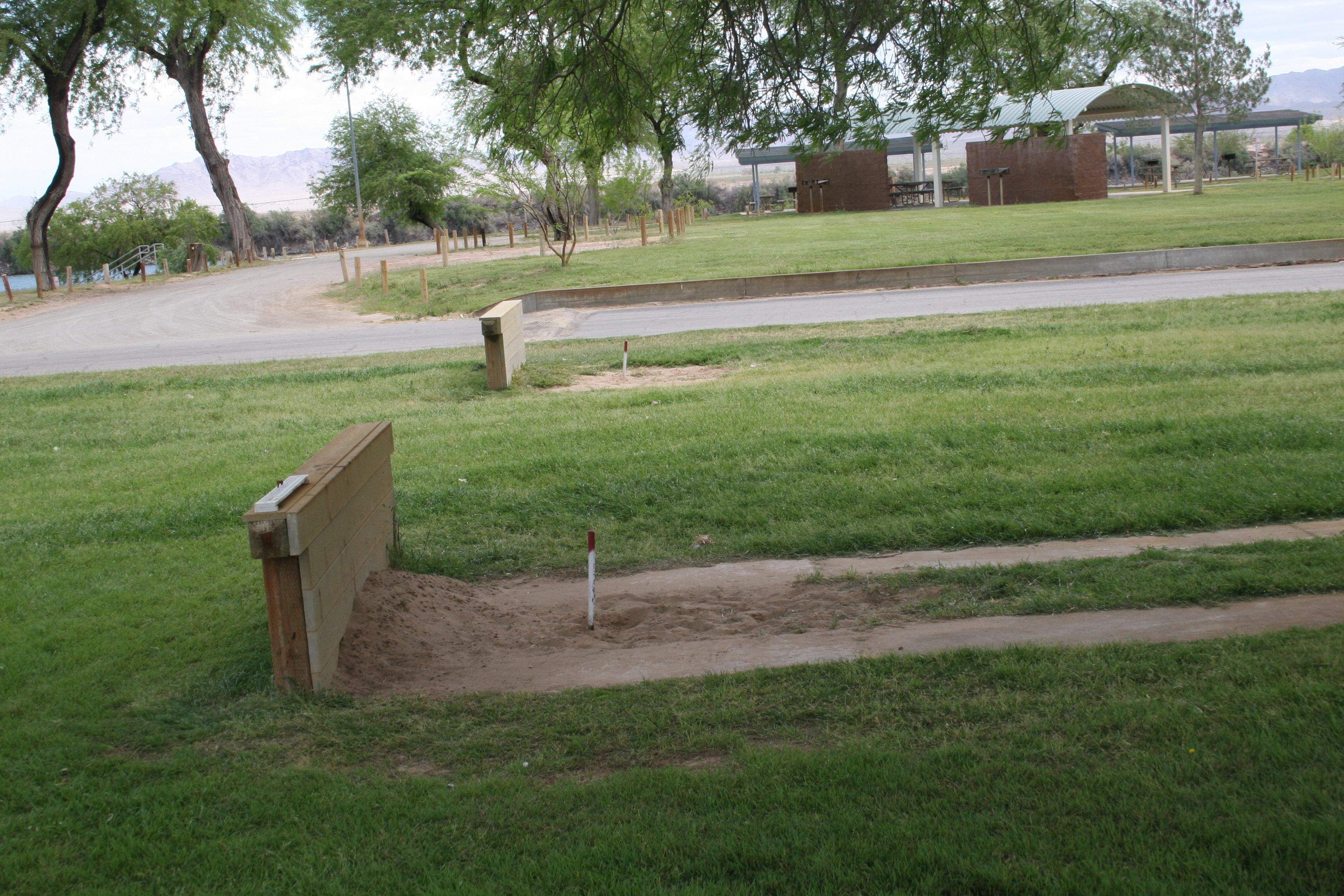 Horse pits at Mayflower Park