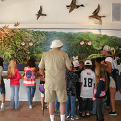 Visitantes del Hidden Valley Nature Center