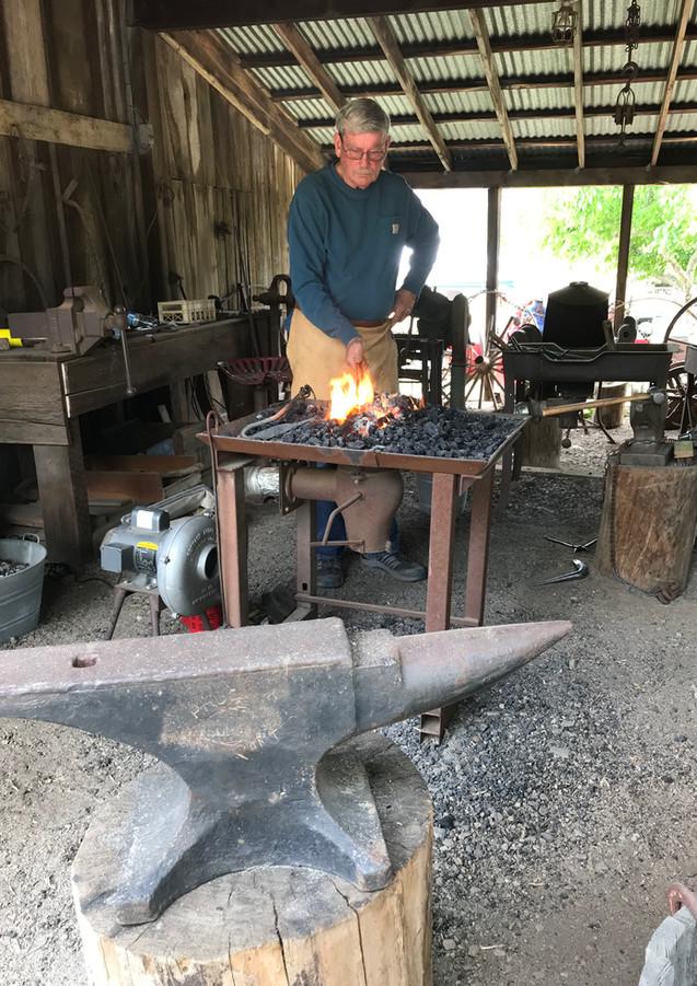 Blacksmith at Gilman