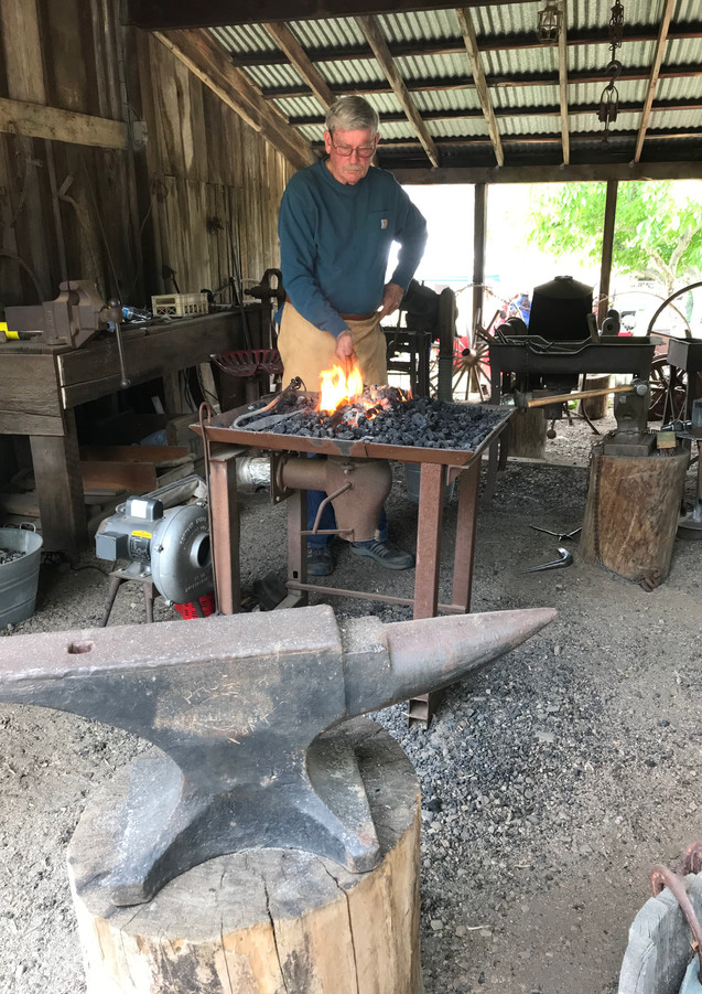 Blacksmith at Gilman