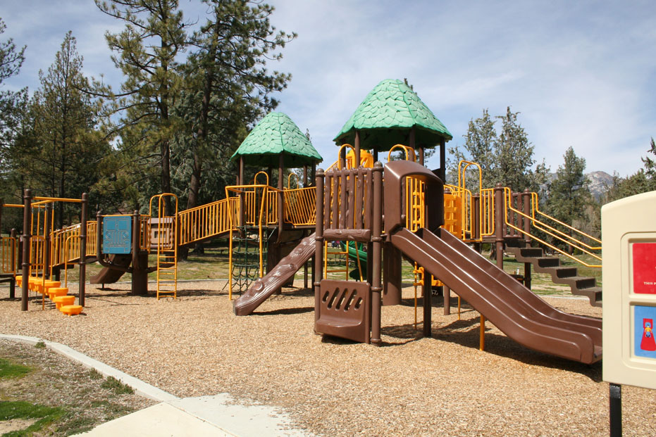 Playground at Hurkey Creek