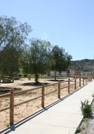 Entrada e instalaciones en la escuela histórica