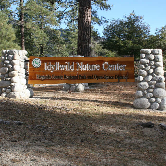 Idyllwild Nature Center sign.jpg