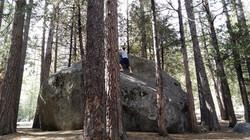 Rock climbing at Idyllwild